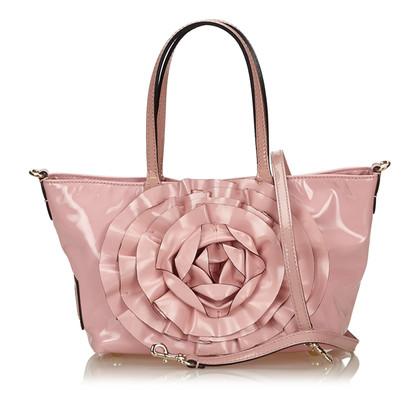 Valentino Patent leather Tote Bag