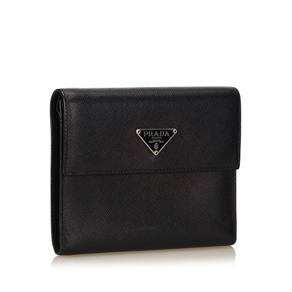"Prada Portemonnee ""trifold"" Leather"
