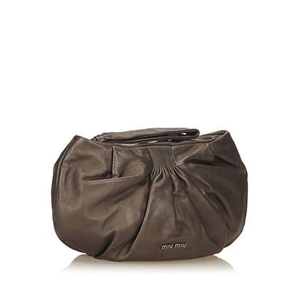 Miu Miu Leren clutch tas