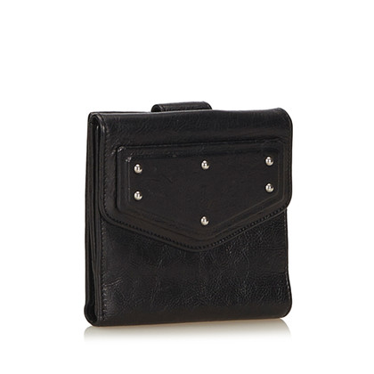 Yves Saint Laurent Leather Small Wallet