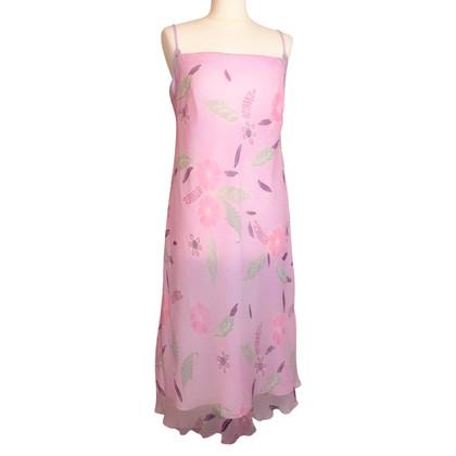 Laurèl Silk dress in pink