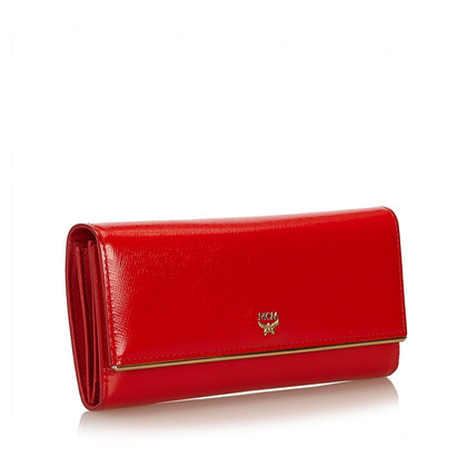 MCM Wallet patent leather