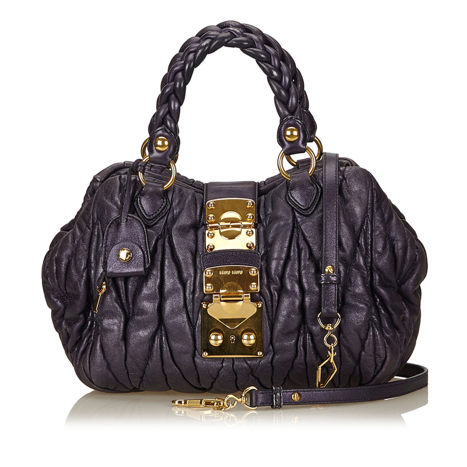 miu miu handtasche second hand miu miu handtasche gebraucht kaufen f r 364 00 2510275. Black Bedroom Furniture Sets. Home Design Ideas