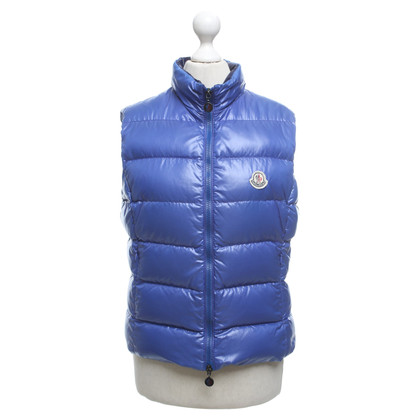 Moncler Down vest in blue