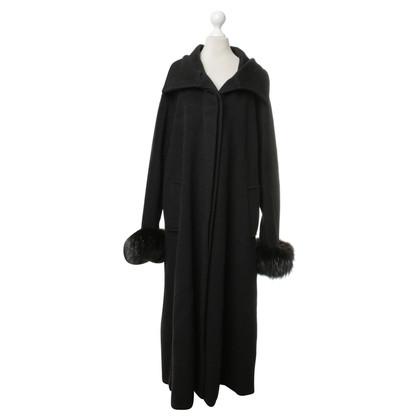 Max Mara Coat with fur details