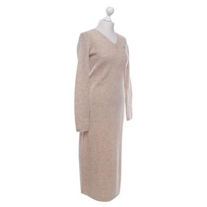 Ralph Lauren Gebreide jurk in beige