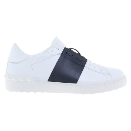 Valentino Sneakers in white / blue
