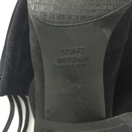 Rabatt Bester Großhandel Original-Verkauf Online Stuart Weitzman Overknees Schwarz Sammlungen Steckdose Online ZeAN1ip