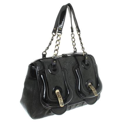 Fendi Handtasche in Anthrazit