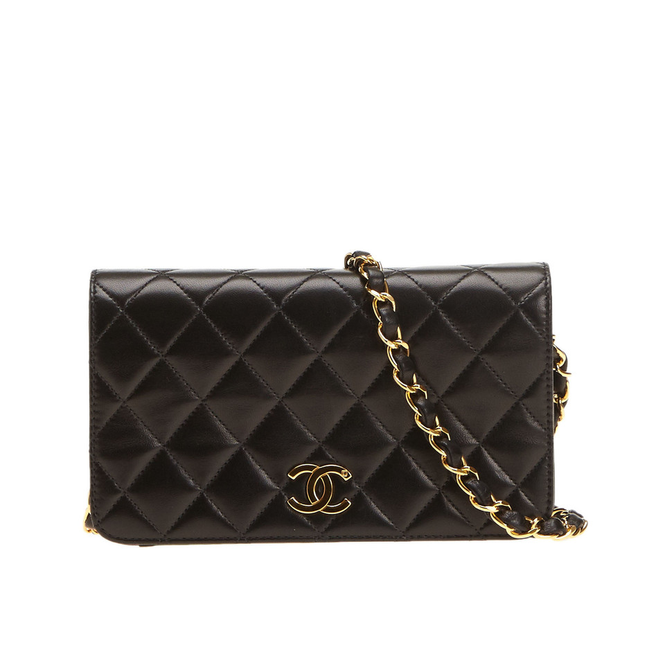 chanel matelasse chain clutch buy second hand chanel matelasse chain clutch for 1. Black Bedroom Furniture Sets. Home Design Ideas