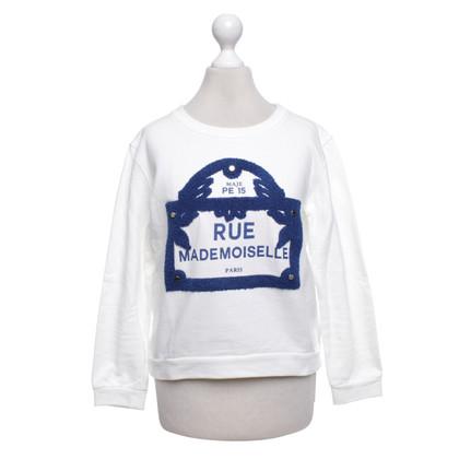 Maje Sweatshirt in White