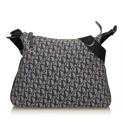 Christian Dior Jacquard shoulder bag