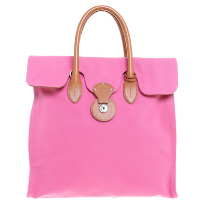 Ralph Lauren Tote bag in pink