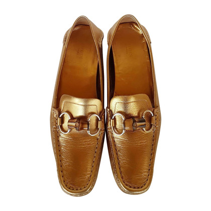 Gucci Goldfarb end Slipper