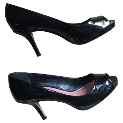 Vince Camuto Patent leather peep-toes
