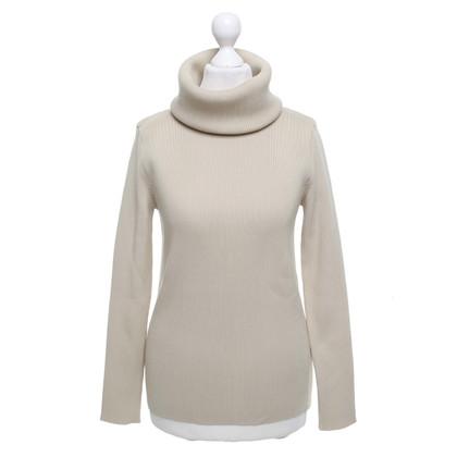 Céline Knitted pullover in beige