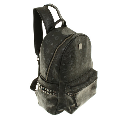 MCM Leather backpack in black