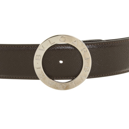 Bulgari Belt in brown