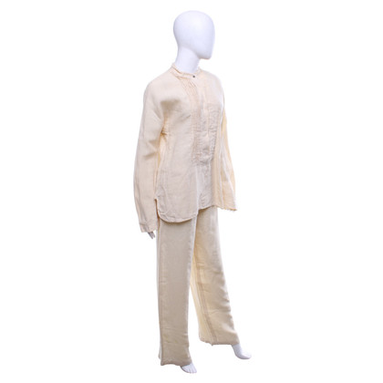 Max Mara top & trousers made of linen