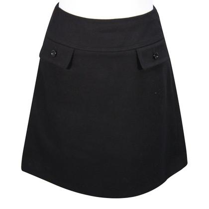 Hobbs Wool skirt in black
