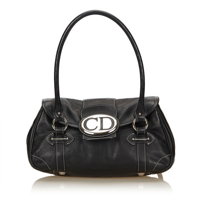 Christian Dior Leather Vintage Traveler Bag