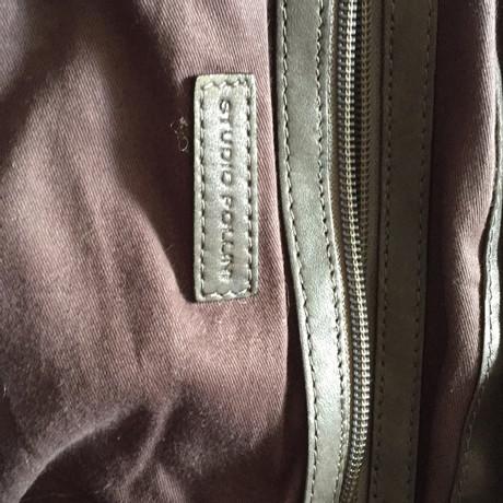 Pollini Handtasche aus Leder Taupe Verkauf Des Niedrigen Preises Online Große Auswahl An Günstigem Preis Shop Günstigen Preis Footlocker Bilder Online Versand Outlet-Store Online RnC6fSnv9V