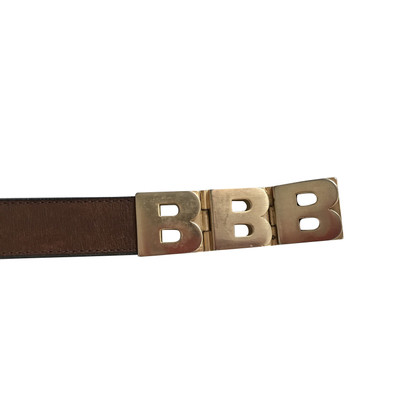 Bogner leather belt