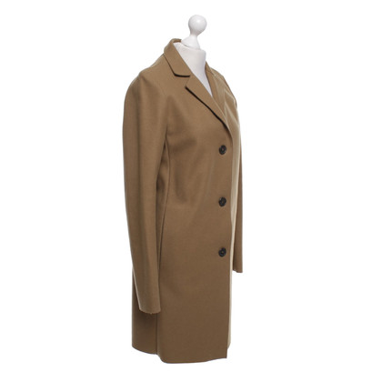 Jil Sander Coat in ocher
