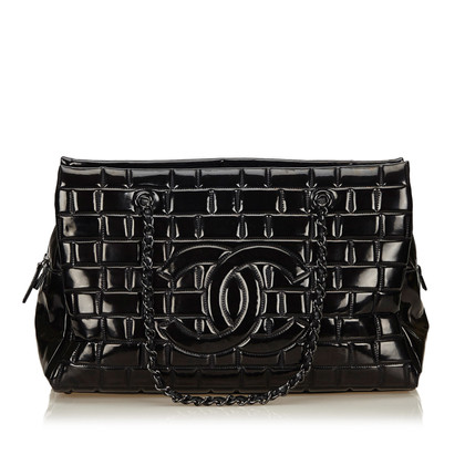 "Chanel ""Choco Bar Shoulder Bag"""