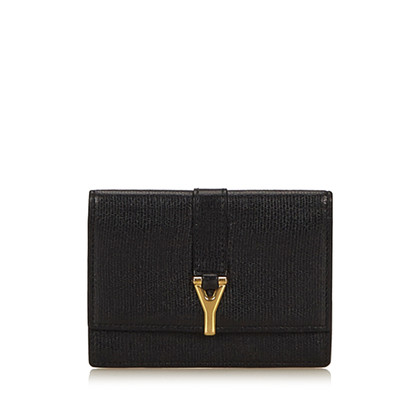 Yves Saint Laurent Card case made of leather
