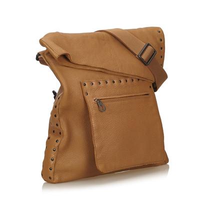 Bottega Veneta sac à bandoulière en cuir