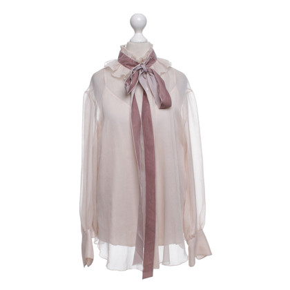 See by Chloé Blouse in Nude / blush pink