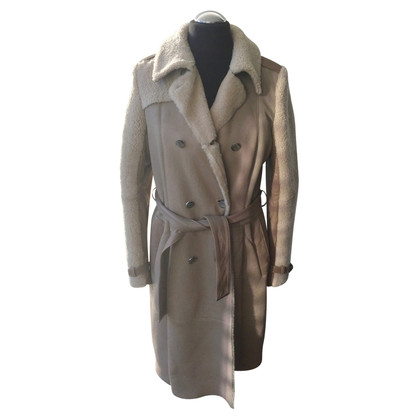 Escada Lambskin trench coat
