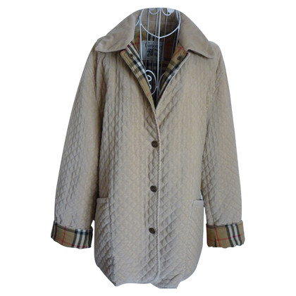 Burberry giacca trapuntata con feritoie