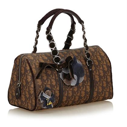 "Christian Dior ""Oblique Romantique Tote Bag"""