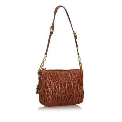 Miu Miu Shoulder bag with matelassé structure