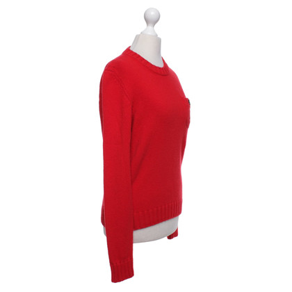 Dsquared2 Knitted pullover in red