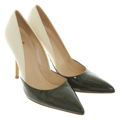 Kate Spade pumps in Groen / wit / geel
