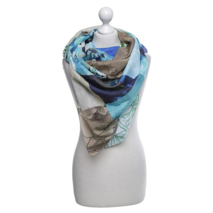 Riani Towel with floral pattern