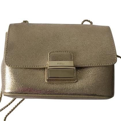 Furla Gold colored shoulder bag