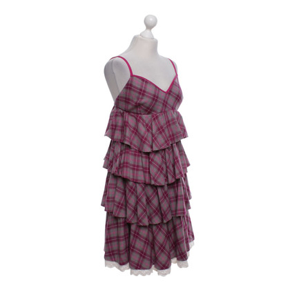 Odd Molly Dress with checked pattern