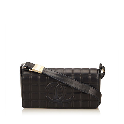 "Chanel ""Choco Bar"" schoudertas"