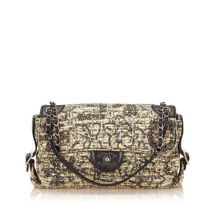 Chanel Tweed Flap Bag