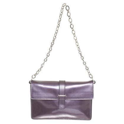 Furla Täschchen in Metallic Violett