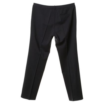 Hugo Boss Plooi broek in donkerblauw
