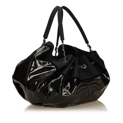 "Chanel ""Vinyl Stretch Spirit Cabas Tote Bag"""