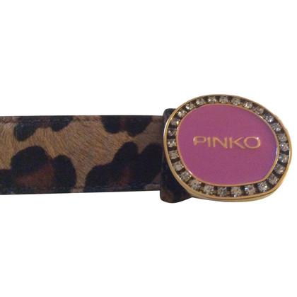 Pinko leather belt