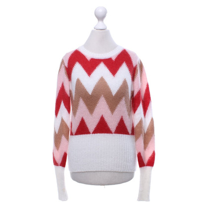Other Designer Paul Mémoir - zig-zag pullover