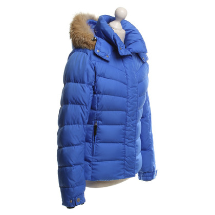 Bogner Down Jacket in Royal Blue