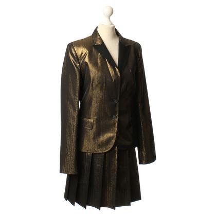 Dolce & Gabbana Kostuum in goud/metallic
